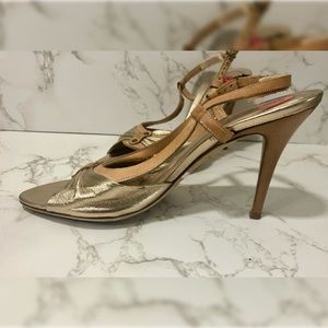 Cole Haan Rose Gold Stiletto